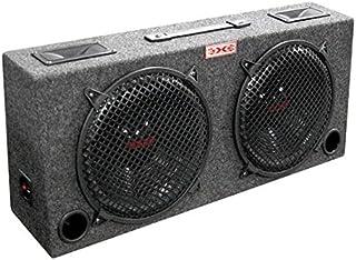 "NEW xXx KIC80 2) 8"" Car Audio Subwoofers Subs + Box Enclosure + 5"" Tweeters photo"