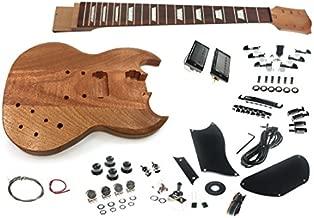 Solo SG Style DIY Guitar Kit, Mahogany Body, Set Neck, SGK-10