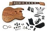 Solo SG Style DIY Guitar Kit, Mahogany Body, Mahogany Set Neck, SGK-10
