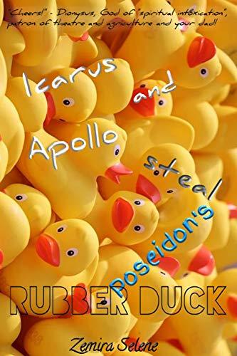 Icarus and Apollo steal Poseidon's rubber duck