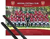 1art1 Fußball Mini-Poster (50x40 cm) FC Arsenal,