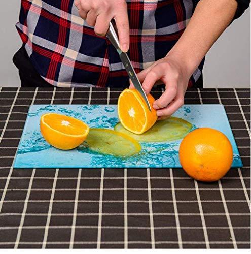 QQW 2Pcs 40X30Cm Cocina Tapa de la Cocina con Orificio Tablero de Corte Seguro de Lavavajillas Resistente a Los Arañazos