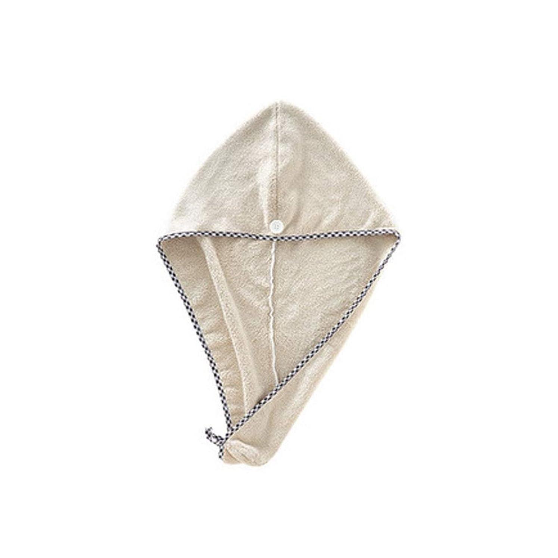 ルーチン予報論文JINSHANDIANLIAO シャワーキャップ、すべての髪の長さと豪華なシャワーキャップの厚さ、再利用可能なシャワーに適したかわいいドライシャワーキャップカーキピンクパープル。 (Color : 1)