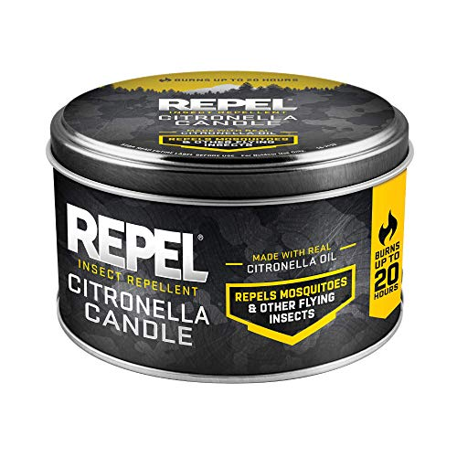 Repel HG-24152 Insect Citronella Candle, Twin Pack