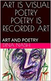 ART IS VISUAL POETRY POETRY IS RECORDED ART: ART AND POETRY