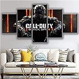 5 Piezas Impresiones HD Juego Black Ops 4 Call Duty Carteles