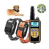 JWR Hundetraining Kleidung Krawatte Fernbedienung Anfänger, Ultraschall Hund Repeller Bark Stopper,...