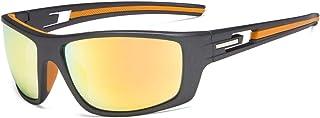 Eyekepper Bifocal Sunshine Readers Reading Sunglasses for Sports TR90 (Gunmetal Frame - Orange Mirror Lens, 3.50)