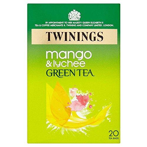 Twinings Grüner Tee Mango Und Litschi , (20)