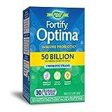 Nature's Way Primadophilus Optima 50 Billion Active HDS Probiotics Immune Defense plus Digestive Support, 30 Delayed Release Vegetarian Capsules