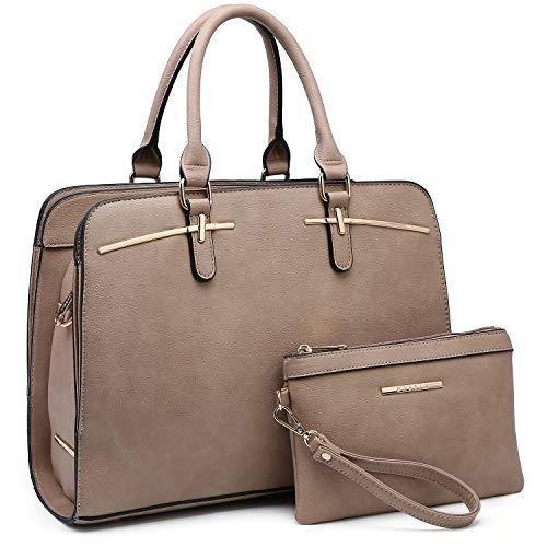 Dasein Women Satchel Handbag Shoulder Purse Top Handle Work Bag Tote Bag...
