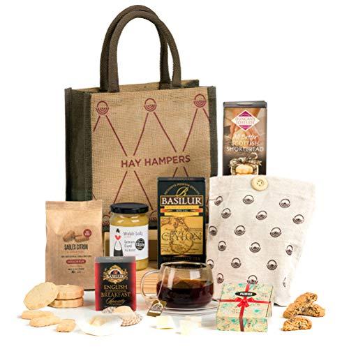 Hay Hampers Tea Time Delights - Tea & Biscuits Hamper Gift Idea for Her