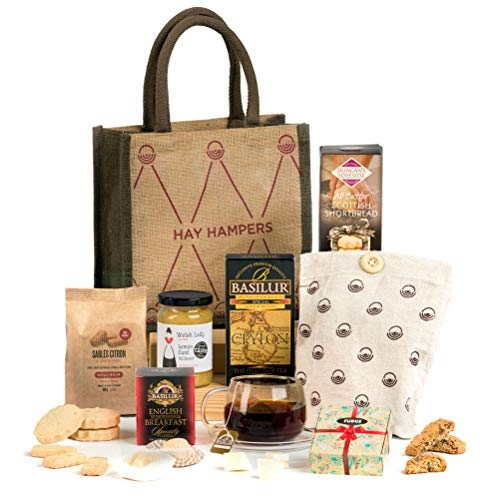 Hay Hampers Tea Time Delights - Tea & Biscuits Hamper Gift Idea for Her