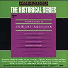 Sonata Recital By Joseph Szigeti & Bela Bartok