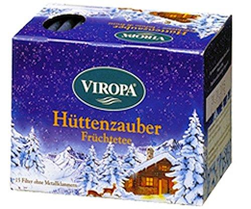 Hüttenzauber Früchtetee 15 Filterbeutel - Viropa