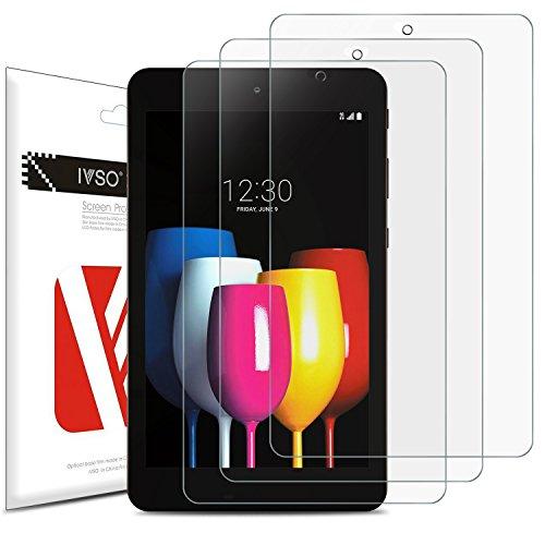 ELTD Xiaomi Mi Pad 4 Protector de Pantalla, Ultra-Trasparente Alta Definición Resistente a Arañazos Protección de Pantalla para Xiaomi Mi Pad 4 7.9 Pulgadas 2018 Model Tableta, 3 Pack