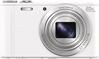 SONY デジタルカメラ Cyber-shot WX300 2110万画素 光学20倍 ホワイト DSC-WX300(W)