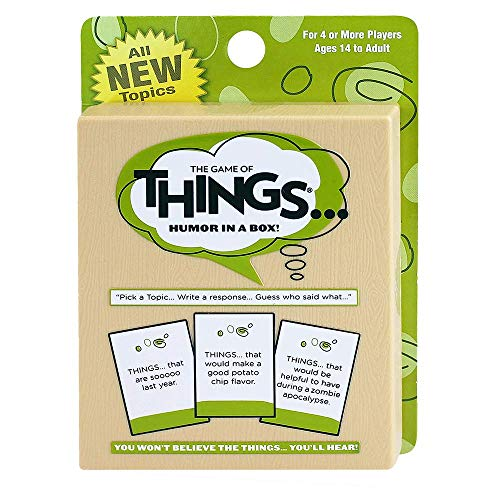 The Game of Things... Expansion/Travel Pack