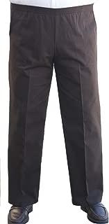 david taylor collection men's back elastic cargo pants