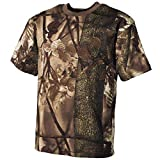 MFH US Army Herren Tarn T-Shirt (Hunter Braun/XXL)