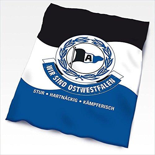 DSC Arminia Bielefeld Fleecedecke Fahne WSO