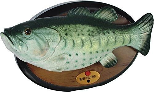 Singender Fisch Billy Bass Angler Animation beweglicher Fisch Fish Hecht