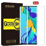 QULLOO Verre Trempé Huawei P30 Pro Protecteur d'écran Film Protection en Verre...