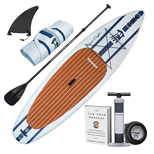"Tower Inflatable 10'4"" Stand Up Paddle Board - (6 Inches Thick) -..."