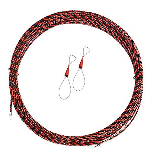 NFLOBD Roscado de Electricista, Herramienta de construcción de Plomo, 3 Cables Trenzados, Herramienta de Ayuda la instalación de cableado del Tirador de guía de Cable, Ideal para tendido de Cables