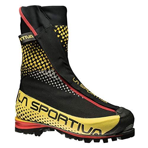 La Sportiva 21c999100, Stivali da Escursionismo Alti Unisex-Adulto, Multicolore (Black/Yellow 000), 41 EU