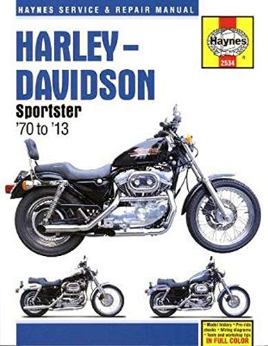 Download Harley-Davidson Sportster '70 To '13 (Haynes Service & Repair Manual) 