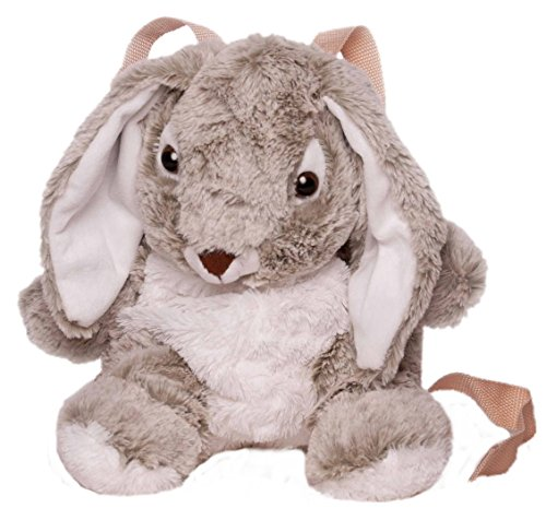 Inware 7607 - Kinder Rucksack Hase, grau/weiß