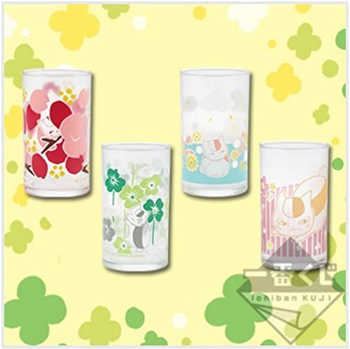F Award glass all four set than most lottery Natsume's Book of Friends nap beauty
