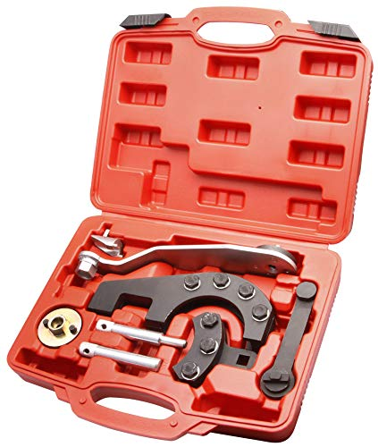 Herkules Werkzeuge Motor einstellen prüfen Zahnriemen arretieren Steuerzeiten T5 2,5 4,9D TDI