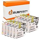 10 Bubprint Druckerpatronen kompatibel für Brother LC-123 LC123 für DCP-J132W DCP-J152W DCP-J4110DW DCP-J552DW DCP-J752DW MFC-J245 MFC-J4410DW MFC-J4510DW MFC-J470DW MFC-J6520DW MFC-J6720DW MFCJ870DW