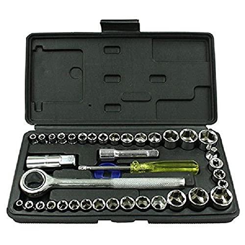 Rolson 36109 - Juego de llaves combinadas (40 piezas)