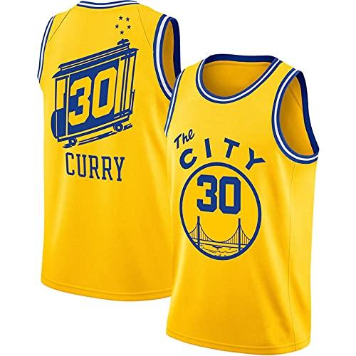 GFDDZ Uniformes De Baloncesto para Hombre, Camisetas De Baloncesto Bordadas De La NBA Lakers, Camisetas Sueltas Y Transpirables, Chalecos Casuales, Yellow2-M