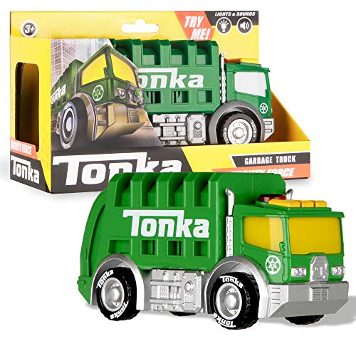 Basic Fun Tonka Mighty Force Lights & Sounds - Garbage Truck