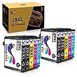 ONLYU Reemplazo de Cartucho de Tinta Compatible para Epson 29XL para Epson Expression Home XP-235 XP-245 XP-247 XP-330 XP-332 XP-335 XP-342 XP-345 XP-430 XP-432 XP-435 (Paquete de 10)