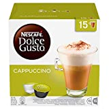 NESCAFÉ Dolce Gusto Cappuccino Coffee Pods, 30 Capsules (45 Servings, Pack of 3, Total 90 Capsules)