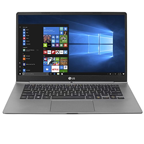 "LG gram Thin and Light Laptop - 14"" Full HD IPS Touchscreen Display, Intel Core i5 (7th Gen), 8GB RAM, 256GB SSD, 2.1 lbs, Back-lit Keyboard, Dark Silver - 14Z970"
