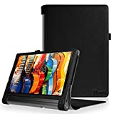 Foto FINTIE Lenovo Yoga Tab 3 Plus/Yoga Tab 3 PRO 10.1 Custodia - Premium Folio Case Protettiva in Pelle PU per Lenovo Yoga Tab 3 Plus 10 / Yoga Tab 3 PRO 10.1 Pollici Tablet, Nero
