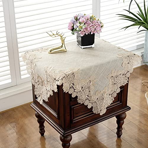 SushiSwap Placemats Tablecloths Max 41% OFF Square Phoenix Mall Embroidery Lace Household