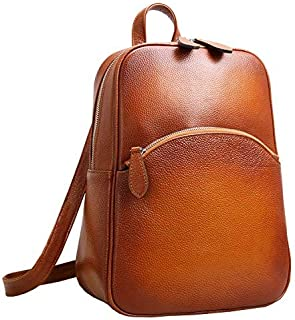 Women's Casual Leather Backpack Daypack for Ladies