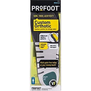 Profoot Custom Orthotic Insole Men s 8-13 1 Pair