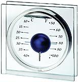 Koch 10211 Magic Ball - Termómetro decorativo, color azul