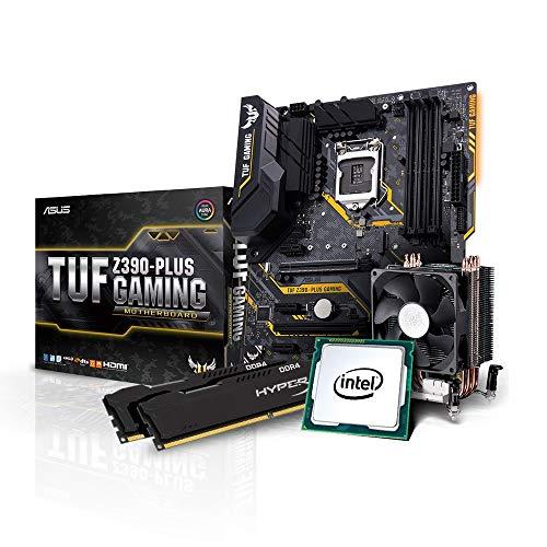 Kiebel Aufrüst Bundle, Intel Core i7 9700K 8x3.6 GHz, 16GB DDR4 3000, Intel HD 630 Grafik, Asus TUF Z390 Plus Gaming, Aufrüst Set, komplett vormontiert und getestet [184575]