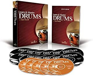 Learn & Master Drums Book/DVD/CD Pack [Hardcover] [2010] (Author) Dann Sherrill