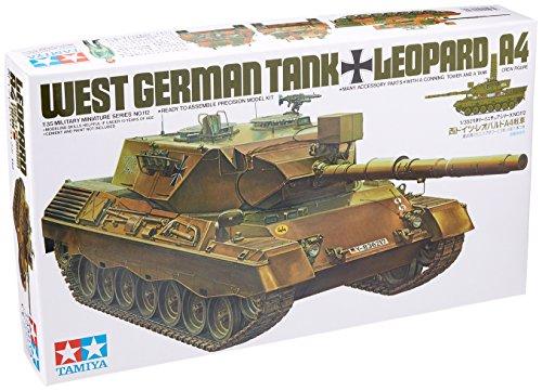 TAMIYA 35112 - 1:35 BW KPz Leopard 1A4 (1), Modellbau, Plastik Bausatz, Basteln, Hobby, Kleben, Plastikbausatz