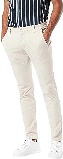 33W // 36L Uomo dockers Smart 360 Flex Alpha Skinny Jeans Nero Black 0018